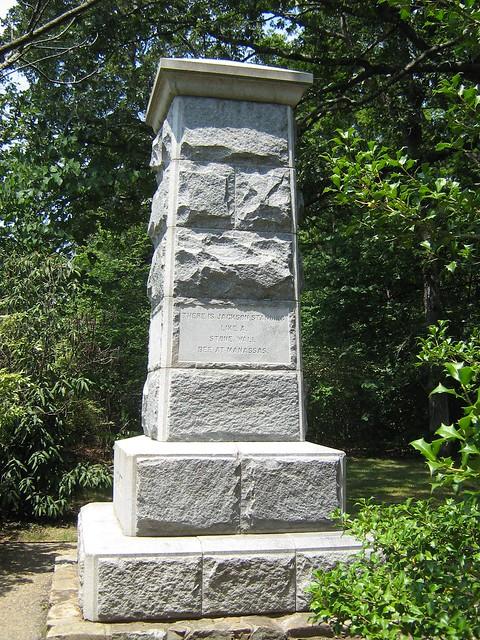 Stonewall Jackson Monument - Chancellorsville Battlefield ...