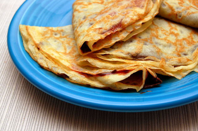 Raspberry Nutella Crepes | Flickr - Photo Sharing!