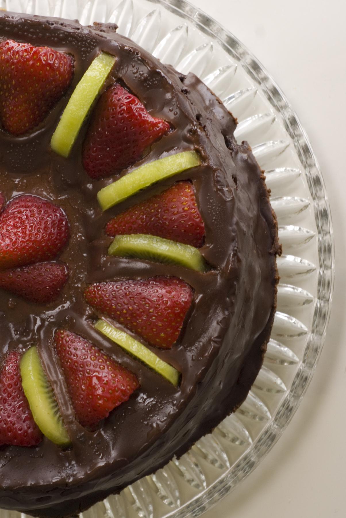 Nigella Chocolate Fruit Cake