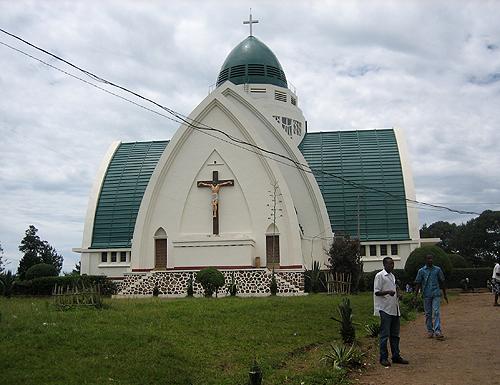 Cathédrale Notre dame de la paix à Bukavu