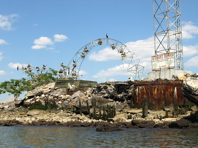 U Thant Island (Belmont Island), East River, Manhattan NYC