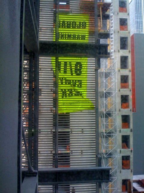 Alain Robert's Banner