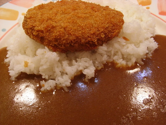 メンチカツカレー Rice Curry with Fried Minced Meat