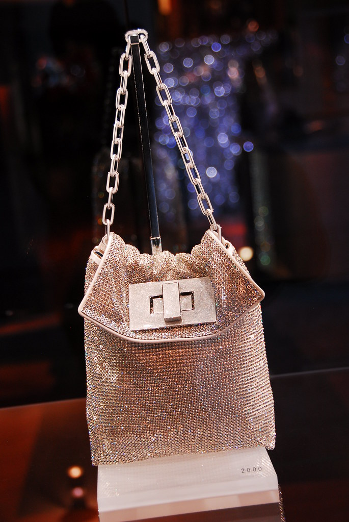 swarovski purse