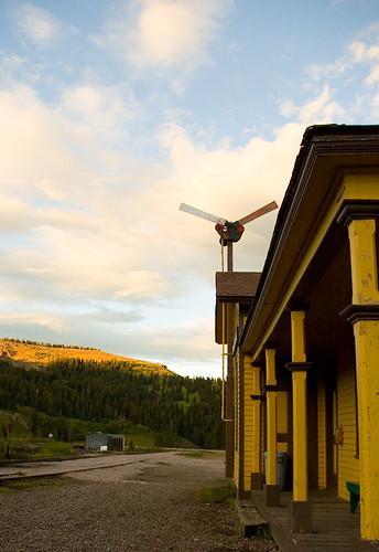 railroad sunset colorado depot cumbres cumbrestoltec
