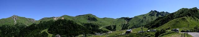 Puy de Sancy panorama