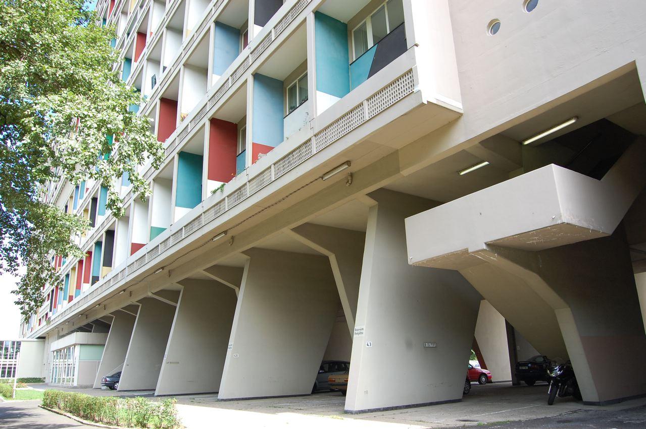 unite d 39 habitation berlin a photo on flickriver. Black Bedroom Furniture Sets. Home Design Ideas