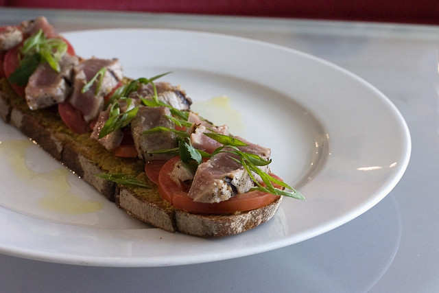 Ahi Tuna Tartine | Flickr - Photo Sharing!