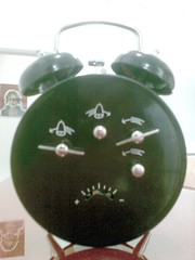 ceramic(0.0), jade(0.0), lighting(0.0), ball(0.0), alarm clock(1.0), clock(1.0),