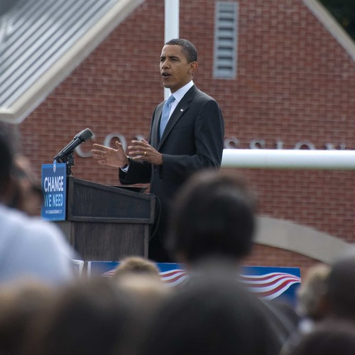 Obama s'exprime à Abington (Pennsylvanie)