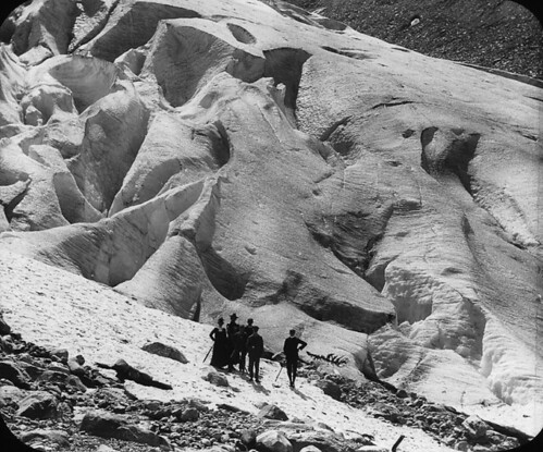 The Great Glacier, Selkirk Mountains, BC, about 1890