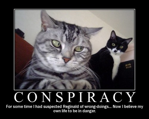 Motivational Poster - Conspiracy