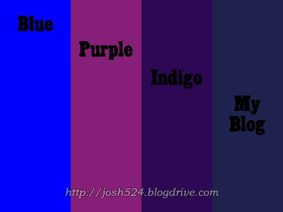 blue purple indigo or some other colour the journey. Black Bedroom Furniture Sets. Home Design Ideas