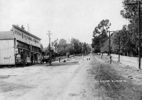 Olinda, California, circa 1920. Photo courtesy Orange County Archives.