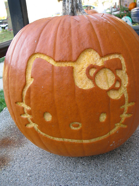 Hello Kitty Pumpkin   Day Flickr   Photo Sharing!
