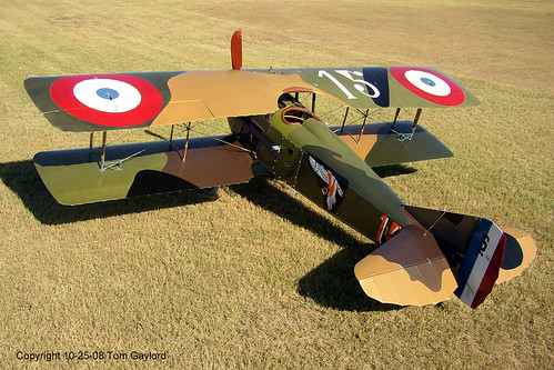 SPAD XIII Full Size Replica Built By Roger Freeman