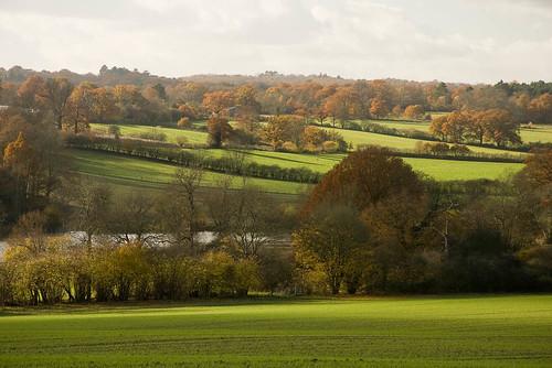 The River Eden valley