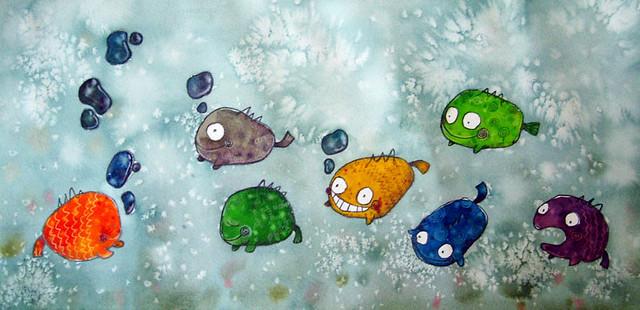 08) 小鱼儿吐泡泡