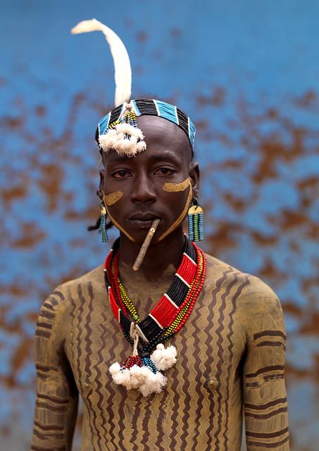 Hamar man Ethiopia
