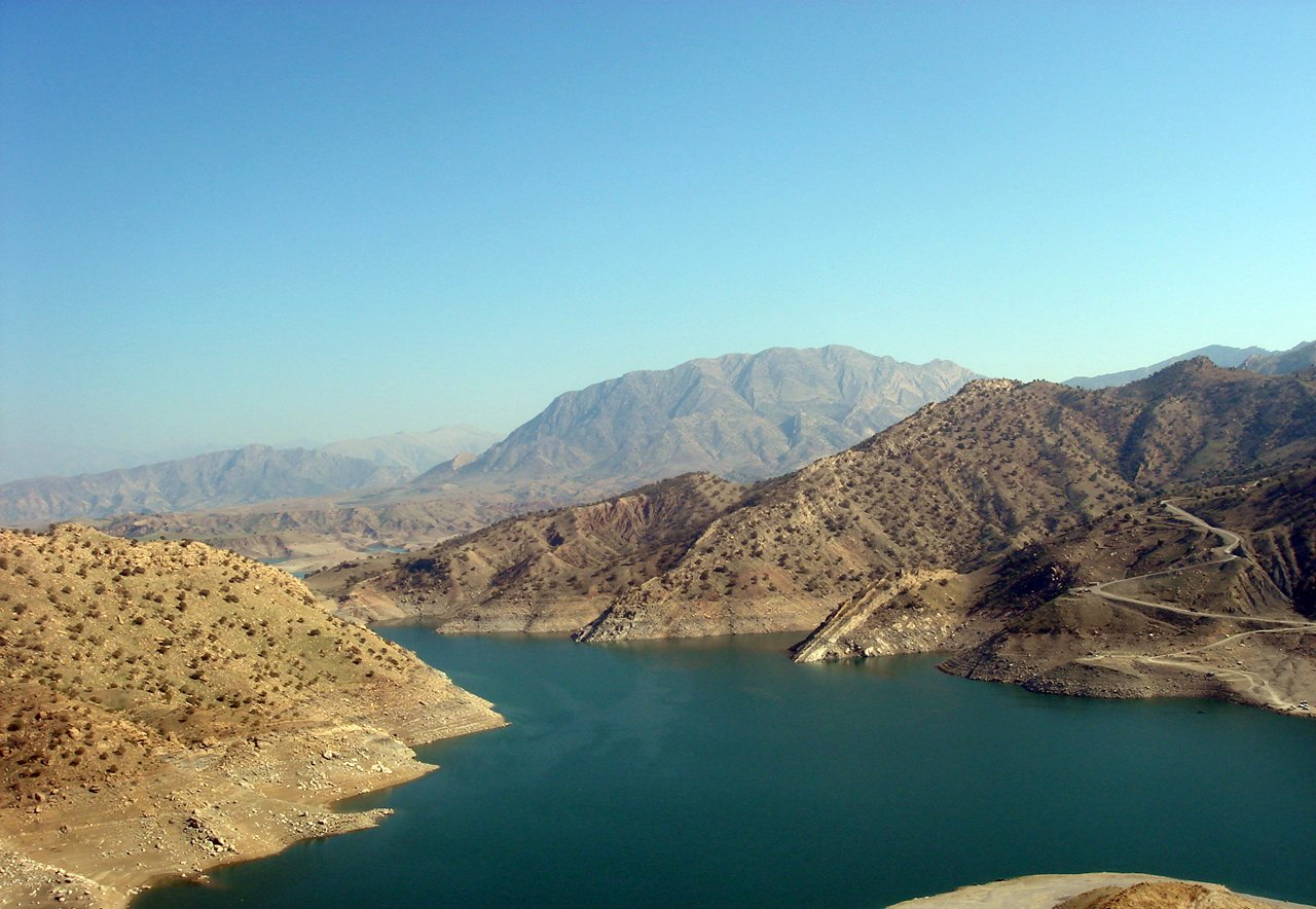 Darbandikhan Dam Lake