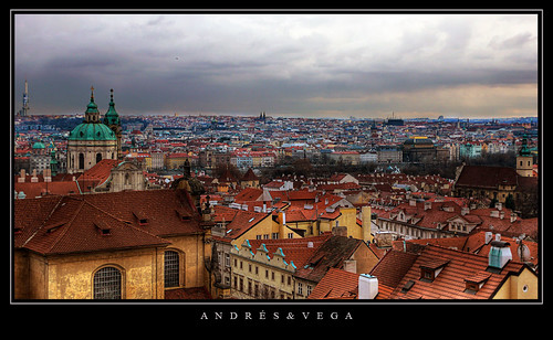 Praga from life of Milan Kundera