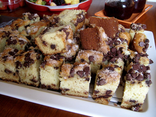 Chocolate-chip sour cream coffee cake | Flickr - Photo Sharing!