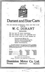 Dominion Motors Ad, Winnipeg, Feb. 3, 1923 p9