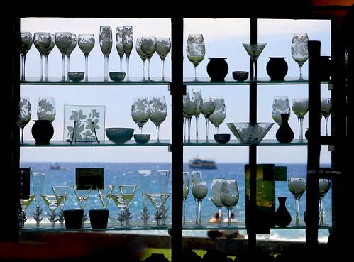 window silhouette hawaii bigisland kona 200802242377