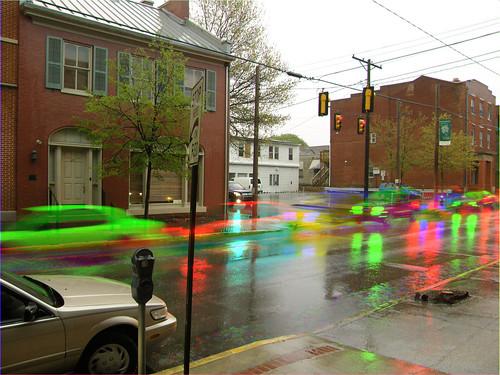 street motion color rain rainbow movement colours traffic dynamic action 4th pa kinetic penn shutter harris fourth effect dynamism huntingdon originalworks specularreflection harrisshutter harrisshuttereffect thiopheneguy thsfeset reflectedheadlight
