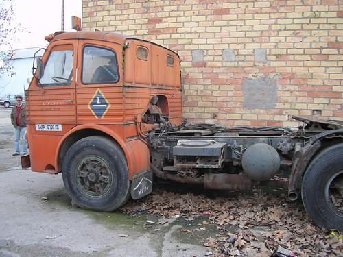 Tractora Pegaso a Lleida