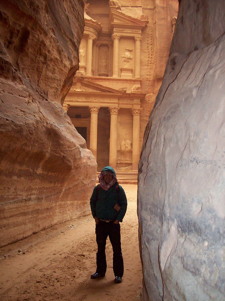 Oliver at Petra