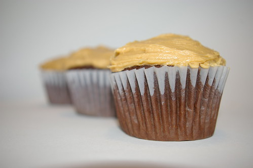 Chocolate Cupcakes With Peanut Butter Icing Patent The