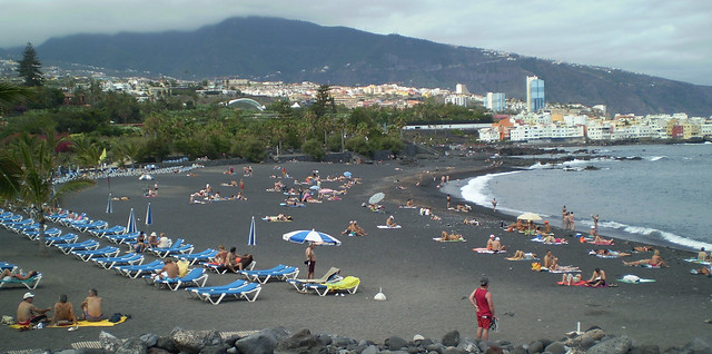 Playa Puerto de la Cruz / Tenerife