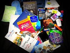 105/365 - July 2, 2008 - What's in My Bag by meddygarnet