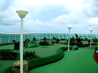 Mariner of the Seas Miniature Golf