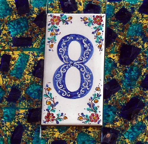 Murano Number 8