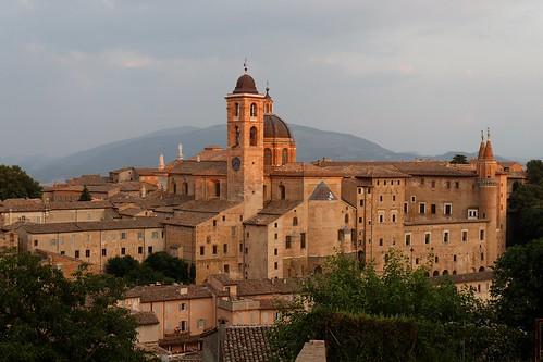 Urbino dusk