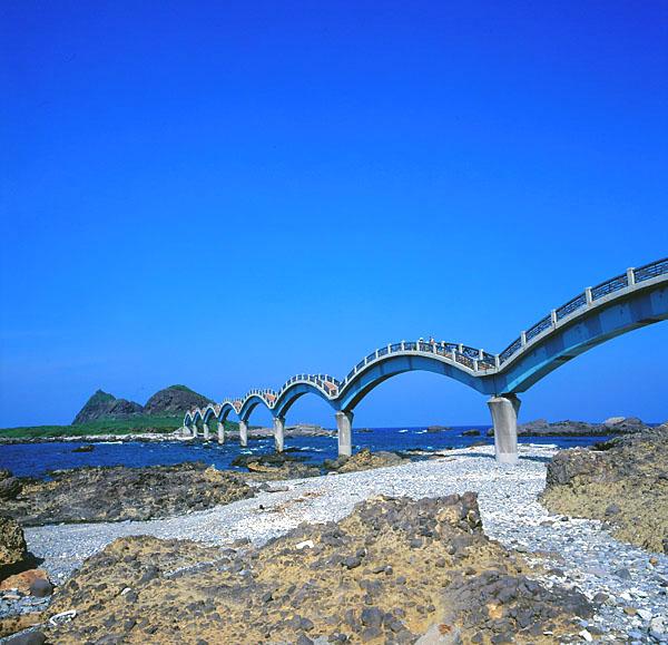 6636三仙台跨海八拱橋