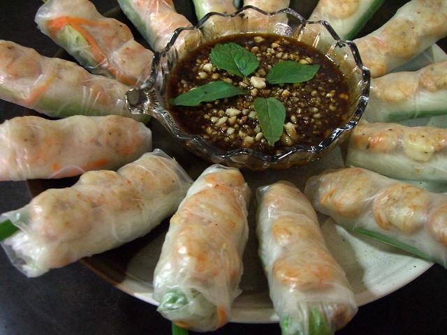 Goi Cuon/Vietnamese Summer Rolls | Flickr - Photo Sharing!
