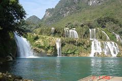 ban gioc bangioc waterfall cao bang caobang