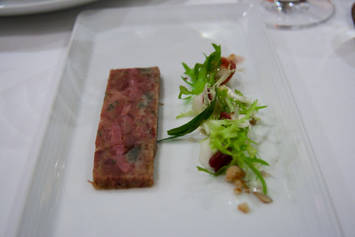 Pressed Duck Terrine Recipe Pressed Duck Amp Artichoke Terrine With Walnut Amp Pears Salad