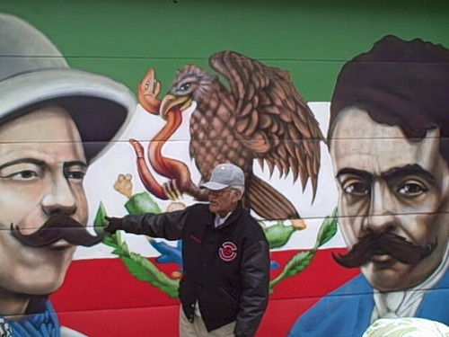 3016995875 for Emiliano zapata mural