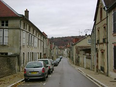 Town near Troyes