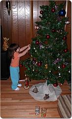 Her #1 Christmas tree.