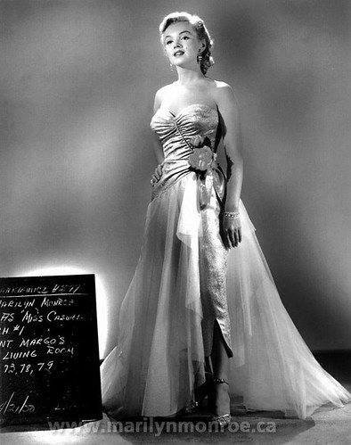 "Marilyn Monroe as ""Miss Caswell"" in ""All About Eve"" (1950) 2"