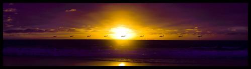 sunset wallpaper panorama beach clouds airplane landscape colorful piper hermosabeach multipleexposures hbw sorrynobokeh butsugiri itsgotsunraykehinstead ©davidjstern