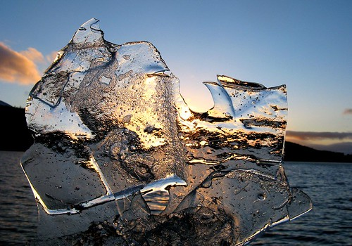 Ice and sunset 3