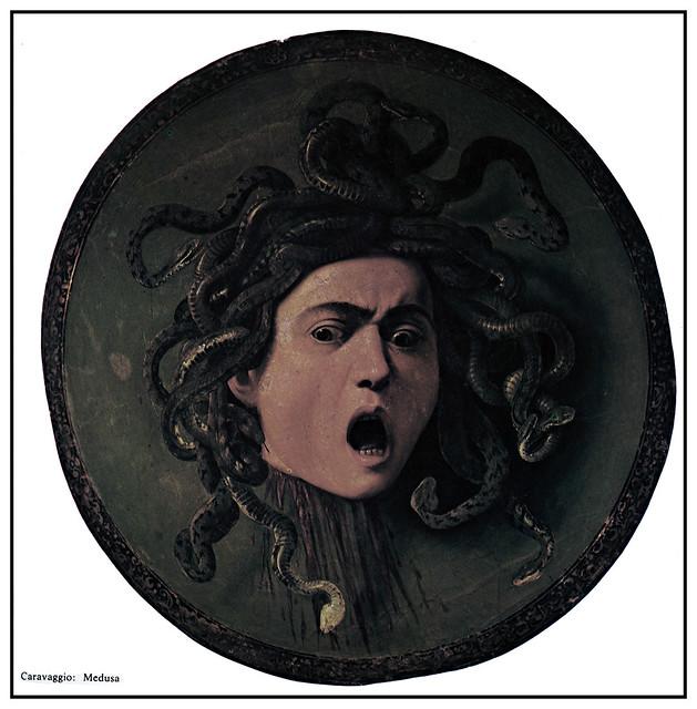 Caravaggio Medusa