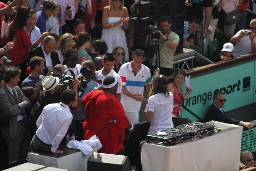 Bob Sinclar, Novak Djokovic, Michael Llodra