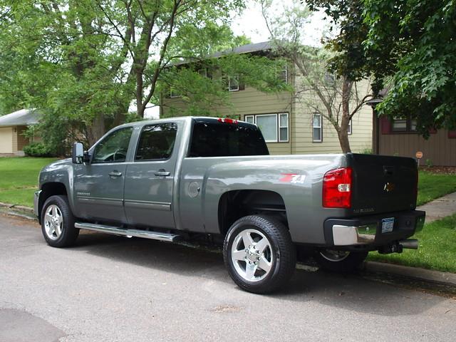 2011 Chevrolet Silverado 2500HD 4